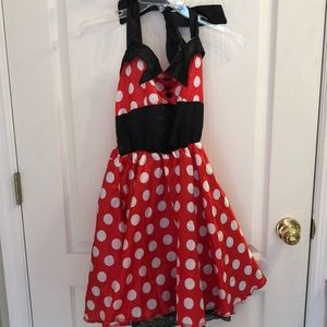 Minnie Mouse Halloween Costume Dress